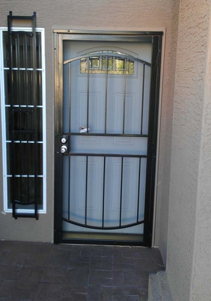 Security Door Installation Southwest Sun Screens
