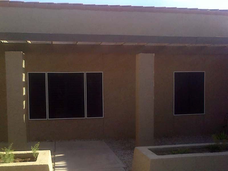 Solar Screens Reduce Heat With Solar Sun Screens In Arizona