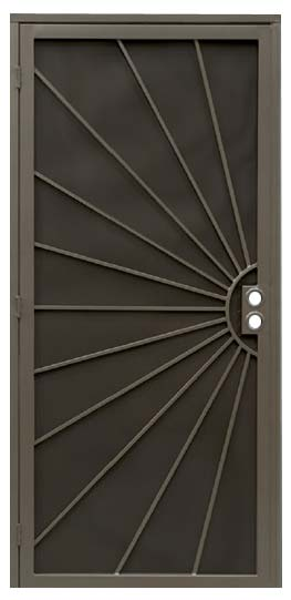 Sunburst Security Door & Sunburst Security Door | Southwest Sun Screens